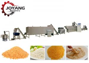 China Fried Chicken 500kg / H Breadcrumb Production Line on sale