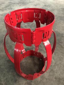 China High Restoring Force Spiral Glider Centralizer , Durable Pipe Centralisers on sale