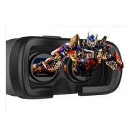 2015 Newest Plastic virtual reality 3d glasses, 3d video glasses virtual reality with Blue