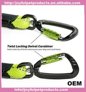 China 2018 amazon FBA Durable Secure Lightweight Swivel Carabiner 5 Foot nylon rope Lead price on sale