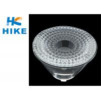 CREE XML RGBW Plastic Led Lens , 40 Degree Optical Lamp Lens 90% Efficiency
