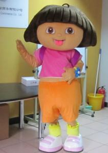 Quality Dora the explorer cartoon character mascot costumes with lovely and funny images for sale