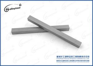 China Wood Cutter Straight Tungsten Carbide Strips Finished Grinding Type on sale