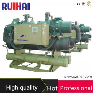 China Energy Saving Water Screw Chiller with Shell and Tube Condenser on sale