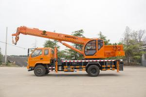 China Famous  truck T-king undercarridge truck crane  from 6T-16T truck mounted cranes on sale