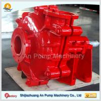 Natural Rubber Lined Mining Horizontal Slurry Pump