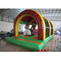China Inflatable Fort For Children'S Play , Fun City / Toddler Bouncy Castle 6 X 4m on sale