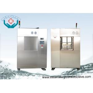 China Animal Cages BSL3 Veterinary Autoclave With Safety Relief Valve And Alarms on sale