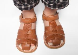 China Unisex Summer Toddler Closed Toe Sandals on sale