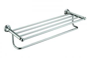 China High Quality Brass Bathroom Accessory Towel Rack Mounting Hardware Towel Shelf on sale