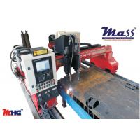 Double Sided Driven CNC Flame Plasma Cutting Machine With Status Indication Device