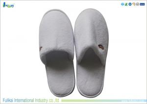 China White Disposable Hotel Slippers Cotton Slippers For Housing on sale