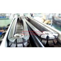 China PA Nylon corrugated pipe making machine/corrugated plastic pipe machine on sale