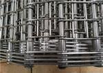 Industrial Heavy Duty Conveyor Chain Belt Stainless Steel 304 Corrosion Resistant