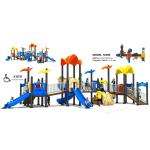 Special Type Childrens Outdoor Slide Large Accessible Facility For Park