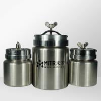 Horizontal Stainless Steel Ball Mill Grinding Jar For Roll Ball Mill / Pot Mill