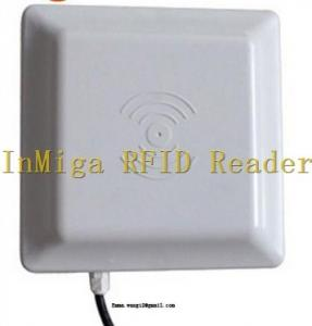 China UHF long range rfid reader  with RS232/WG26/RS485/TCP/IP/WiFi interface for option on sale