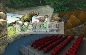 China Pneumatic / Hydraulic / Electrical 4D Theater System , 4d dynamic cinema with fog windy aromatic on sale