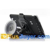 "7"" Touchscreen GPS Navigator with Bluetooth, FM Transmitter"