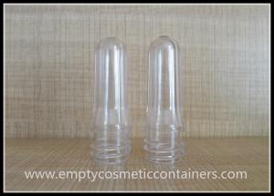 China Cylinder Clear PET Bottle Preform , 2 Liter Bottle Preforms 18Mm Neck on sale