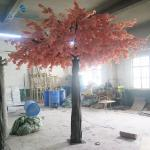 Safe Artificial Flower Arrangements Cherry Blossom Tree For Wedding / Party