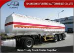 China Professional 45000 Liters Fuel Tanker Semi Trailer With 5 Compartments  wholesale