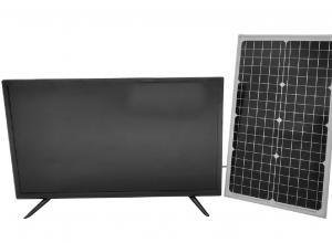 China DC12V Home Solar Energy TV 43H 1 Lamp Solar Panel To Run Tv on sale