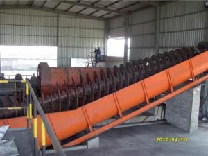 China Industrial spiral classifier for ore beneficiation manufacturer of China with ISO9001:2000 on sale