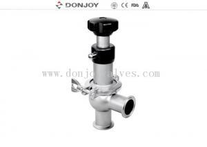 China 304 / 316L sanitary manual regulating reversing seat valve DN25 - DN150 on sale