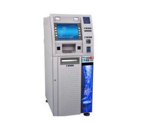 China Stainless Steel ATM Cabinet Enclosure , Metal ATM Kiosk Casing on sale