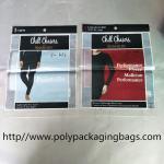 China CPP Composite Back Sealed OPP Self Adhesive Bag Printed Underwear Bag Custom wholesale
