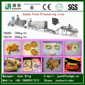 China Puffed Corn Snack Food Extruder Machine on sale