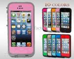 Chaux - caisses imperméables noires de téléphone portable, cas de preuve de saleté de Redpepper pour Iphone 5 5G
