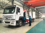 SINOTRUK  6 X 4  Heavy Cargo Truck Landing Leg Lift System For Towing Semi Trailer