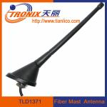 China roof or rear deck mount fiber mast car antenna/ passive car am fm radio antenna TLD1371 wholesale