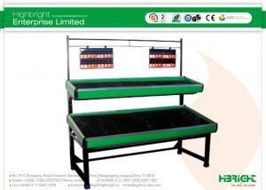 China Supermarket racks shelving Shelf Display Vegetable and Fruit Rack Series on sale