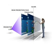 China Clear Transparent Nano Projected Capacitive Touch Film , 70 Inch 10 Points Touch Foil Film on sale
