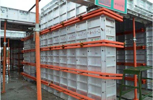 Green Concrete Aluminium Formwork System Forms For Sale