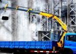 耐久 XCMG 折るブームのトラックは都市構造のためのクレーン 10T を取付けました