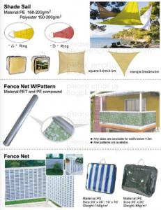 China anti-snow net,anti-hai net,plastic-nail,pe clips,awning,shade net,shade sail,fence net,olive net,anti-bee net,grape hous on sale