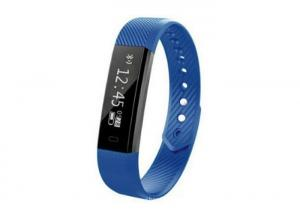 China Waterproof Smart Bluetooth Wristband Step Counter Activity Monitor For Smartphone on sale