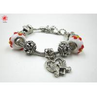 Trendy Handmade DIY Bead Charm Bracelets Cute Pandora Metal Link Bracelet