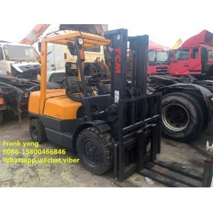 second hand  TCM Forklift 3 Ton  , tcm used 3 ton diesel forklift for sale