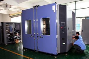 China Overseas installation Large capacity Walk in Climatic Test Chamber for Cable Industry on sale