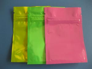 China Oxo Biodegradable Foil Bag Packaging , Recycle Colorful k Mylar Food Bags on sale