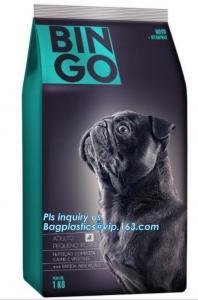 China aluminum foil side gusset pet dog food packaging zipper plastic bag, Pet Dog Food Packaging Paper Bag, pet food bags on sale