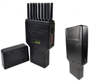 China 16 Bands Portable Cell Phone Jammer WIFI GPS UHF VHF 315 433 Signal Jammer on sale