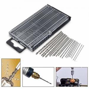 China High Speed Steel Mini HSS Drill Bits Micro Twist Set With Case Repair Parts on sale