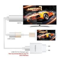 1080P Samsung Galaxy Micro Hdmi To Hdmi Cable , Black Metal Hdmi 4k Cable For UHDTV,