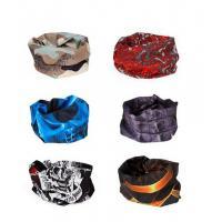6pc Seamless Style Bandanna Headwear Scarf Wrap - Mixed Sets